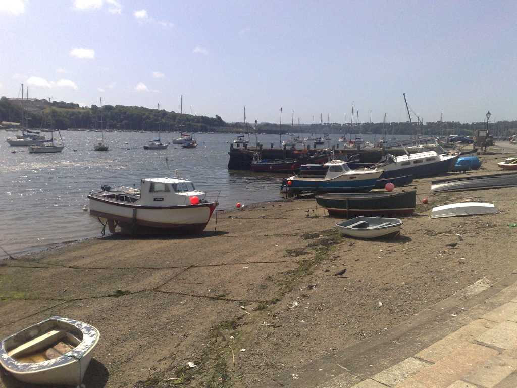 Saltash Waterfront Beach